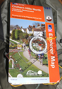 OS Map 181 Chiltern Hills North
