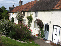 A Row of Cottages in Wendover